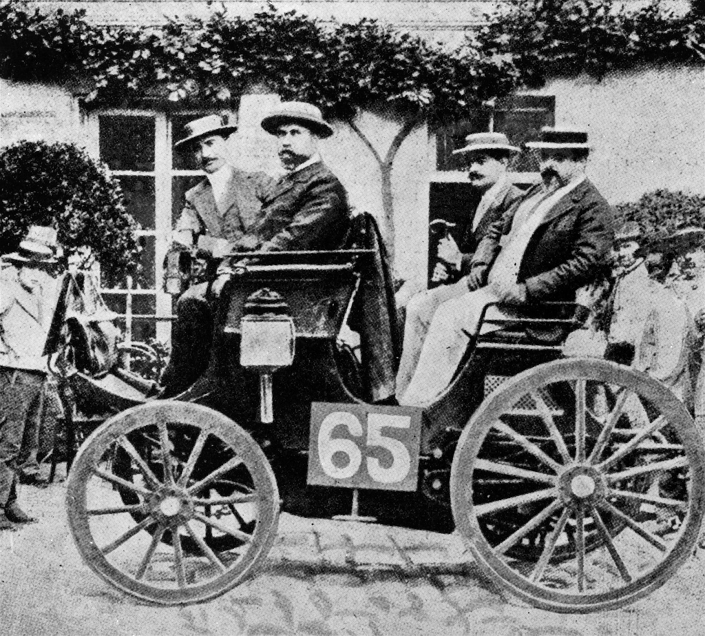 rste Automobilwettfahrt von Paris nach Rouen, 22. Juli 1894