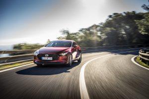 Der neue Mazda3 Fahraufnahme