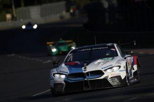 BMW M8 GTE mit der Nummer 82 geht vom fünften Startplatz ins 24-Stunden-Rennen von Le Mans.