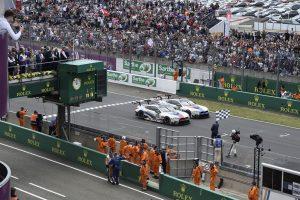 BMW M8 GTE 24-Stunden-Rennen von Le Mans.
