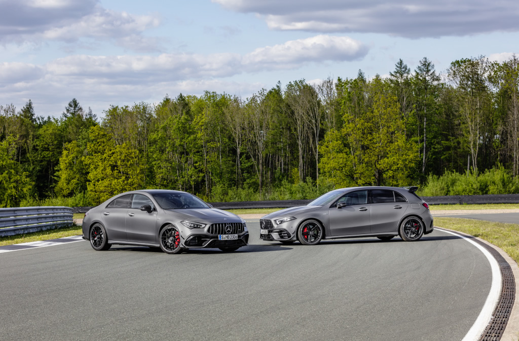 Mercedes-AMG A 45 S 4MATIC+ und CLA 45 S 4MATIC+