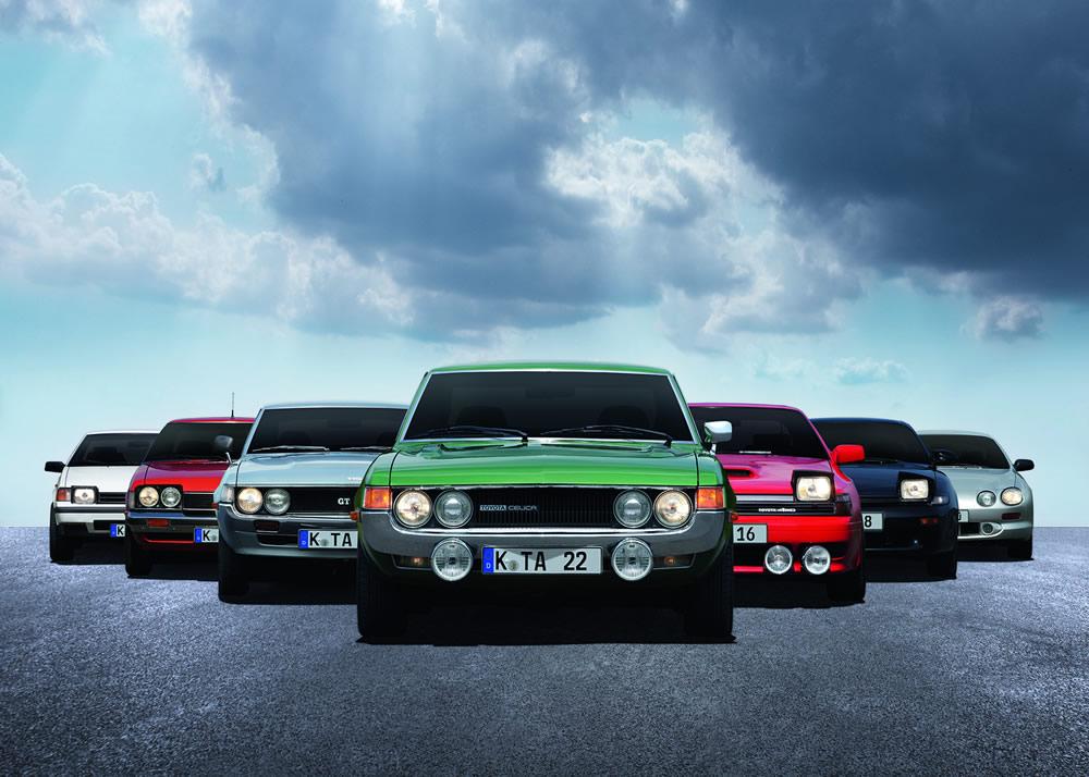 Toyota Celica Generationentreffen