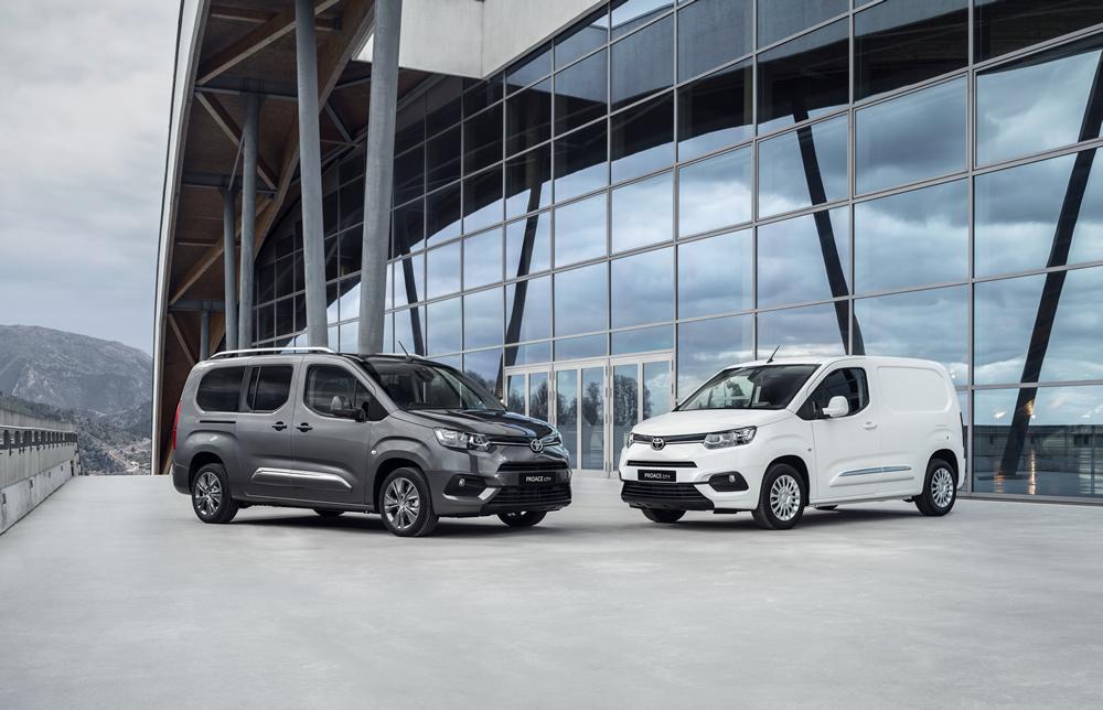 Toyote KastenwagenProaceund dem Pick-upHilux