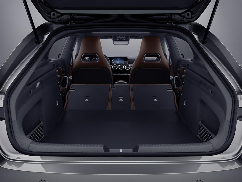 Mercedes-Benz CLA Shooting Brake Laderaum