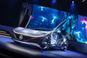 "Consumer Electronics Show (CES) 2020 Keynote: ""Sustainable Modern Luxury – Next Chapter"" Weltpremiere Mercedes-Benz VISION AVTR"