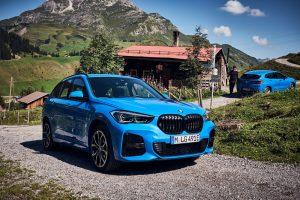 Der neue BMW X1 xDrive25e und der BMW X2 xDrive25e